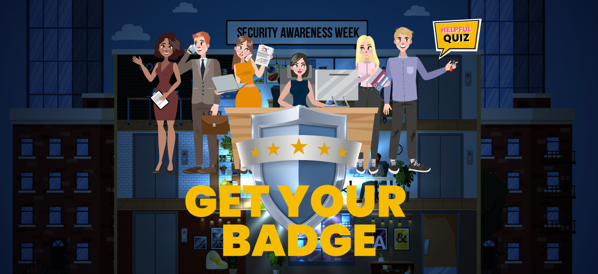 GET YOUR BADGE!