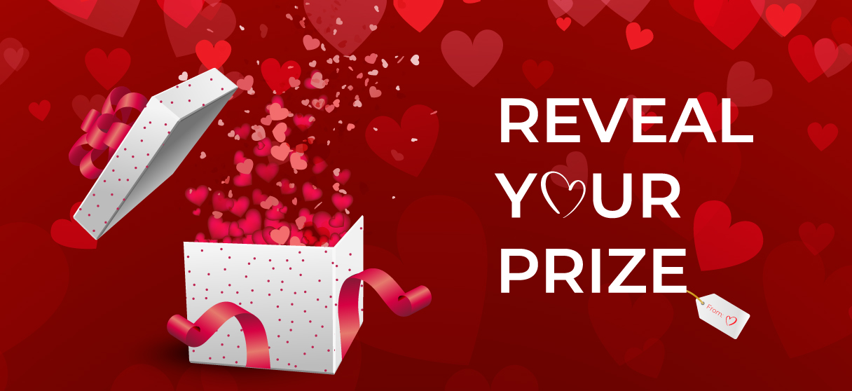 REVEAL YOUR PRIZE